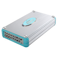 Lanzar AQA830BTSL Silver Aquatic Bluetooth Marine Grade Power Amplifier (8-Channel 4800 Watt Amp)