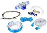 New Cadence FMK8 Professional 8 Gauge Waterproof Marine Boat Amplifier Installation Wire Kit