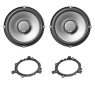 """New Infinity Reference 6032si 6.5"""" Inch Shallow Mount High Performance 150-Watt Two-Way Car Audio Loudspeaker (Pair)"""