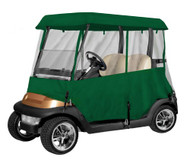 Armor Shield Deluxe 4 Sided Golf Cart Enclosure 2 Passenger, Fits Carts up to 66'' Length (Olive Color)