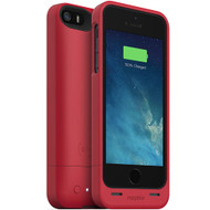 mophie Juice Pack Helium Snap Battery Case for iPhone 5/5s (1500mAh) - Red Metalic