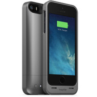 mophie Juice Pack Helium Snap Battery Case for iPhone 5/5s (1500mAh) - Dark Metalic