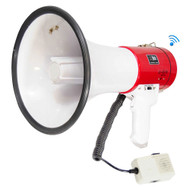 New PMP52BT Bluetooth 40W Megaphone Speaker w/Siren AUX USB & SD Input