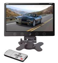 New PHR105B 10.2'' LCD Headrest Monitor w/Stand & Shroud w/RCA & Remote Control