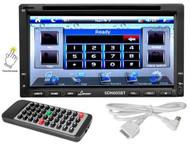 "NEW Lanzar SDN695BT 7"" 2-Din DVD Bluetooth USB/SD iPod Receiver Touchscreen 320W"