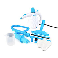 Pyle PSTMH02 Handheld Steamer Multipurpose Pressurized Steam Cleaner 800 Watt