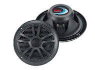 Pair MR6B Boss Audio 6.5'' 180 Watt Dual Cone Weather Proof Marine Speaker System (Black)