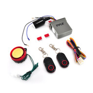 New Pyle PLMCWD25 Watch Dog Motorcycle Vehicle Alarm Security System, Remote Auto-Start, Includes (2) ECU Control Transmitters, Anti-Hijack Engine Immobilization, High-Power Piezo Speaker