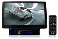 New PLD10BT10.1'' Screen DVD CD MP3 iPod AM FM USB SD Receiver/ Bluetooth/Remote