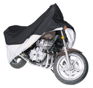 Armor Shield Motorcycle Cover Fits Motorcycles Upto 1500cc Full Dress, Blue/Silver