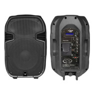 New Pyle 1 PPHP157AI 15'' 1400W Portable Powered 2 Way PA Speaker iPod Dock USB