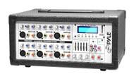 New Pyle PMX640BT 6-CH 600W Bluetooth Mixer w/Balanced USB/SD Wireless Streaming
