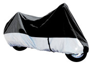 Armor Shield Deluxe Motorcycle Cover Fits Motorcycles Touring/Full Dress Upto 1500cc With Fairing & Bags