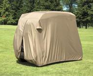 Armor Shield Golf Cart Slip-On Cover 2 Passenger In Tan Color