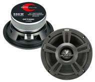 500 Watt 6.5'' Midbass with Paper Cone & Foam Surround