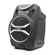 Pyle PWMAB210BK Bluetooth Karaoke Speaker Recording System, Wireless Mic, USB/SD