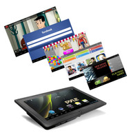 "4GB 7"" Google Android 4.0 Tablet PC A8 3D Graphics Dual Built in Camera w/ Wifi"