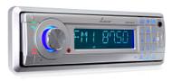 AM/FM Marine In-Dash Detachable Face Radio w/MP3/USB/SD/AUX Input with Bluetooth Wireless Technology