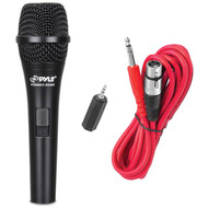 Handheld Vocal Condenser Microphone W/ 15ft XLR-to-1/8'' Cable & 1/4'' Adaptor