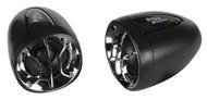 "Boss Motorcycle/Utv Amplifier Speaker 2.5"" Speakers Built In Amp 400W"