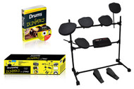 Professional Electronic Drum Kit - All-in-One Drumming System with Drums for Dummies Instructional CD & Book