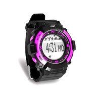 Pyle PSPTR19PN Multi-Function Sports Wrist Watch/Sleep Monitor/Pedometer Step Counter/Stop Watch, Pink