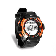New Pyle PSPTR19OR Multi-Function Sports Wrist Watch/Sleep Monitor/Pedometer Step Counter/Stop Watch, Orange
