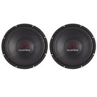 "2 X New Massive Audio 12"" Car Audio Subwoofer"