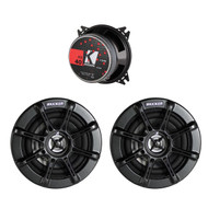"New Pair Kicker KS40 11KS40 4"" 2-way KS Series Coaxial Car Stereo Speakers w/ Grilles"