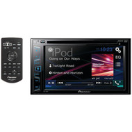 "Pioneer AVH-290BT Double DIN Bluetooth In-Dash DVD/CD/AM/FM Car Stereo Receiver w/ 6.2"" WVGA Display"