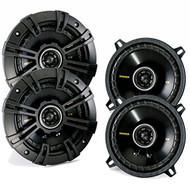 4 x New Kicker CS speaker package - Two pairs of Kicker CS Series 5 Coaxial 40CS54
