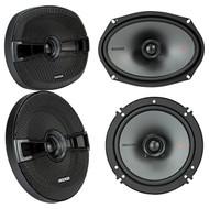 "(2) New! Kicker 44KSC6904 KSC69 6x9""+(2) Kicker 44KSC6504 KSC6 6.5"" Car Speakers"