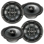 "2 Pairs Of New Kicker 11KS60-N Car Audio 6.5"" 2-Way 130 Watt Ks Series Coaxial Audio Stereo Speaker"