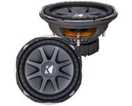 "Kicker 10CVX154 CompVX 15"" inch Subwoofer DVC Dual 4-ohm voice coils 2000 Watts"