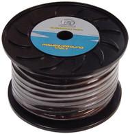 Ground Wire 4Ga. 100' Black Bullz Audio *Bg4.100Bk*