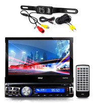 """Pyle 7"""" Bluetooth GPS CD AUX USB Touch Car Receiver, Pyle Rear Back Up Camera"""