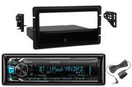 Installation Dash Kit,Kenwood iPod Bluetooth AUX Mp3 Pandora iPhone Car Receiver