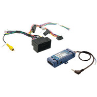 Pac Radio Replacement Interface With Steering Wheel Control Retention For Select Dodge/Jeep/Ram