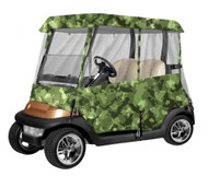 Armor Shield Deluxe 4 Sided Golf Cart Enclosure 2 Passenger, Fits Carts up to 66'' Length (Camo Color)