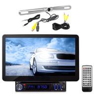 "Pyle 10.1"" Hi-Res Touch CD USB SD Bluetooth Radio, Back Up Zinc Back Up Camera"