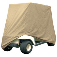 Armor Shield Golf Cart Storage Cover 2 Passenger In Tan Color