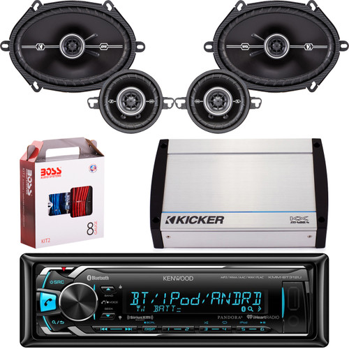 kmm bt322u bluetooth stereo mp3 usb car receiver pair kicker rh roadentertainment com