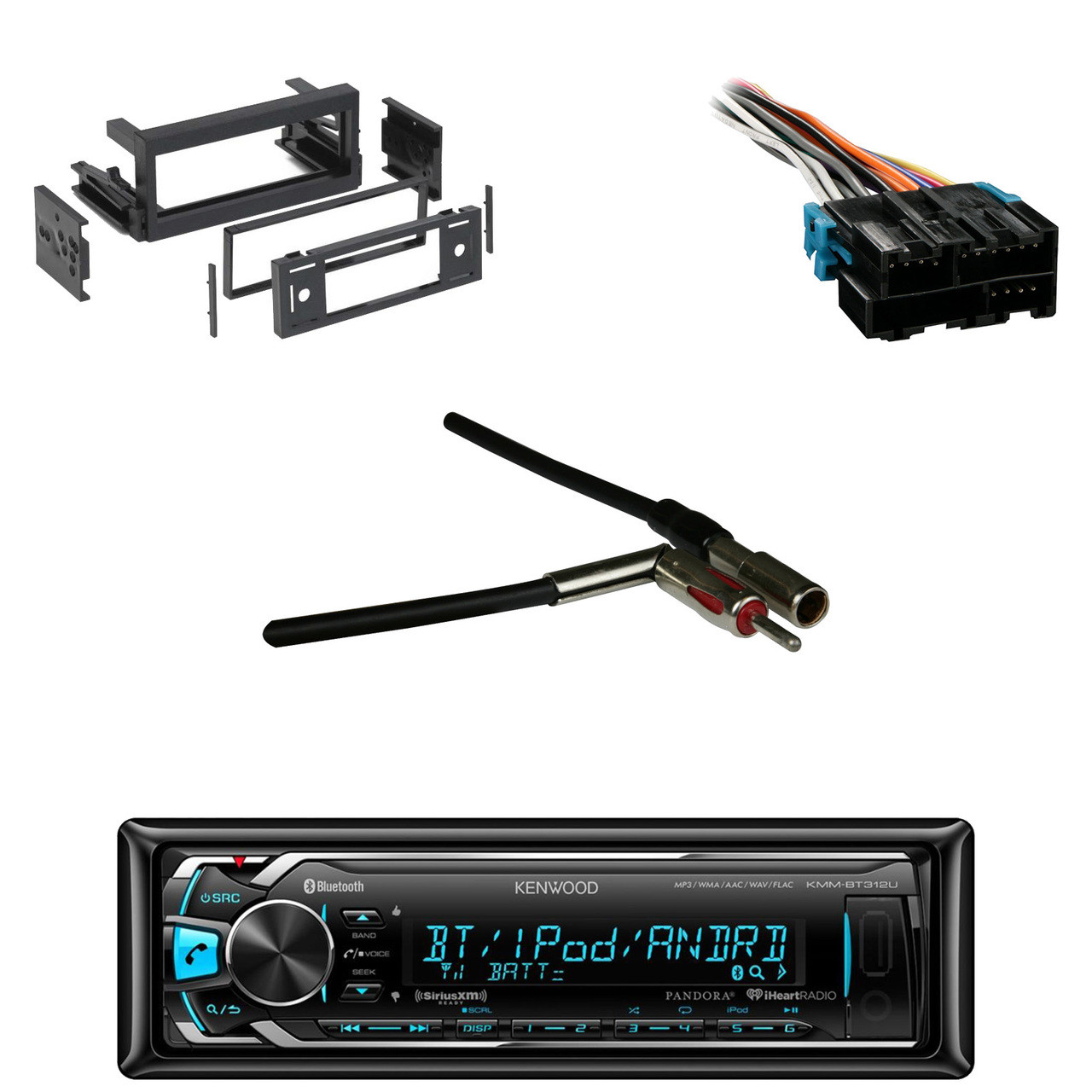 Metra 70 1858 Radio Wiring Harness For Gm 88 05 Road Kenwood Car Stereo Adapter