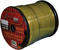 Audiopipe 18Ga Spekaer & Remote Wire 500' Ft Yellow
