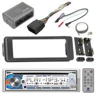 AM425BT CD Bluetooth Receiver, Scosche Harley Touring FLHTC Install Adapter Kit