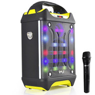 Pyle PWMA275BT Bluetooth Karaoke MP3/USB/SD/FM Speaker System, Wireless Mic