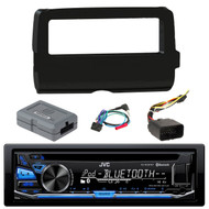 JVC KD-RD87BT Bluetooth iPod Android USB/MP3/WMA CD Player Stereo Receiver,  Scosche 2014-Up Harley Davidson Handlebar Controls, Scosche HD7001B 2014-Up Harley Davidson Stereo Install Dash Kit