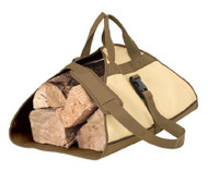 Armor Shield Patio Firewood Log Rack Carrier 40''L x 25''(Opened) Shoulder Strap 55'' (Extended)