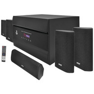 New Pyle 400W 5.1 Channel Home Theater System AM/FM Tuner CD DVD MP3 Compatible