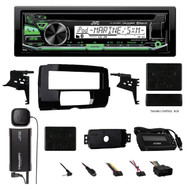 2014-15 Harley Touring Install Adapter Dash Kit, XM Tuner, Bluetoth CD Receiver